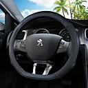 billige Rattovertrekk til bilen-Rattovertrekk til bilen Lær 38 cm Svart / Svart / Rød / Svart / Blå Til Peugeot 4008 / 408 / 3008 Alle år