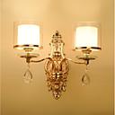 povoljno Zidni svijećnjaci-ecolight ™ kristalna zidna svjetla 2pcs e14 40w / tradicionalna / klasična zidna svjetla& zidne svjetiljke 220-240v