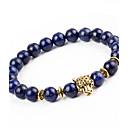 Χαμηλού Κόστους Μανικετόκουμπα Ανδρικά-Ανδρικά Γυναικεία Onyx Βραχιόλι με χάντρες Βραχιόλι Φύση Μοντέρνα Κράμα Βραχιόλι Κοσμήματα Σκούρο μπλε Για Δώρο Αργίες