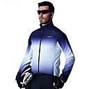cheap Cycling Jerseys-SANTIC Men's Cycling Jacket Bike Top Windproof Sports Blue Mountain Bike MTB Road Bike Cycling Clothing Apparel Advanced Relaxed Fit Bike Wear