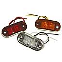 Χαμηλού Κόστους Car Exterior Lights-Sencart 1 κομμάτι φορτηγό / μοτοσικλέτα / λαμπτήρες αυτοκινήτου 1w οδήγησε led 120lm 2 εξωτερικά φώτα διακόσμηση φώτα για καθολική όλα τα έτη
