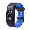 billige Smart armbånd-Smart armbånd til iOS / Android Pulsmåler / Blodtrykksmåling / Kalorier brent / Lang Standby / Pekeskjerm Stopur / Pedometer / Samtalepåminnelse / Søvnmonitor / Stillesittende sittende Påminnelse