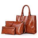 povoljno Komplet nakita-Žene Patent-zatvarač PU Bag Setovi Kompleti za vrećice Crn / Braon / Red