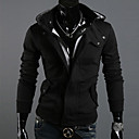ราคาถูก อุปกรณ์ดำน้ำ-สำหรับผู้ชาย ขนาดพิเศษ เพรียวบาง กางเกง - สีพื้น ที่มีขนาดใหญ่ ขาว / ฮู้ด / Sport / แขนยาว / ตก / ฤดูหนาว