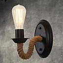 ราคาถูก เชิงเทียนติดผนัง-วินเทจ Country โคมไฟติดผนัง สำหรับ โลหะ โคมไฟติดผนัง 110-120โวลล์ 220-240โวลต์ 40W