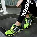 Χαμηλού Κόστους Αντρικά Αθλητικά Παπούτσια-Ανδρικά Παπούτσια άνεσης Τούλι Καλοκαίρι / Φθινόπωρο Αθλητικά Παπούτσια Τρέξιμο Πράσινο / Κόκκινο / Μπλε / Αθλητικό / Κορδόνια