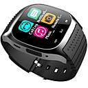 baratos Smartwatches-M26 garoto smart watch bt 4.0 barato rastreador de fitness suporte notificar e monitor de freqüência cardíaca compatível samsung / sony android telefones e apple
