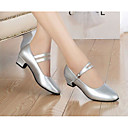 povoljno Capless-Žene Plesne cipele Sintetika Moderna obuća Štikle Crn / Srebro / Vježbanje / EU40