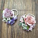 povoljno Cvijeće za vjenčanje-Cvijeće za vjenčanje Wrist Corsage Vjenčanje Poliester 3.94 inch