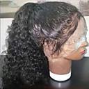זול פיאות תחרה משיער אנושי-שיער אנושי ללא דבק, תחרה מלאה תחרה מלאה פאה עם קוקו בסגנון שיער ברזיאלי מתולתל פאה 150% צפיפות שיער עם שיער בייבי שיער טבעי בגדי ריקוד נשים קצר בינוני ארוך פיאות תחרה משיער אנושי ELVA HAIR / מסולסל