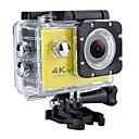 billige Arbeidbelysning-SJ7000 / H9K Action Kamera / Sportskamera GoPro vlogging Vanntett / Wifi / 4K 32 GB 60fps / 30fps / 24fps 12 mp Nei 2592 x 1944 pixel / 3264 x 2448 pixel / 2048 x 1536 pixel Dykking / Surfing / Ski