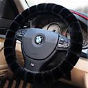 Χαμηλού Κόστους Καλύμματα για το τιμόνι αυτοκινήτου-Καλύμματα για το τιμόνι αυτοκινήτου Χνουδωτό 38 εκ Μπεζ / Γκρίζο / Βυσσινί Για Volkswagen Teramont Όλες οι χρονιές