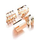 ราคาถูก กระเป๋าตังค์-สำหรับผู้หญิง แหวน สีทอง สีเงิน Metal โลหะผสม สุภาพสตรี ไม่ปกติ ดีไซน์เฉพาะตัว ทุกวัน ที่มา เครื่องประดับ Leaf Shape
