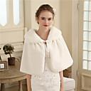 ราคาถูก ผ้าคลุมสำหรับชุดแต่งงาน-ขนสัตว์เทียม งานแต่งงาน / งานปาร์ตี้ / งานราตรี Women's Wrap กับ ขนสัตว์ ผ้าคลุมไหลถัก