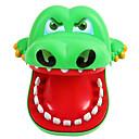 billiga Originella leksaker-Krokodiltandläkare Professionell Stor storlek Biting Hand Fisk Krokodilmönster Plastik Barn Vuxna Unisex Pojkar Flickor Leksaker Present