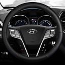ราคาถูก ผ้าคลุมพวงมาลัย-Steering Wheel Covers หนัง 38ซม. สีน้ำเงิน / ขาว / ทับทิม สำหรับ Hyundai IX25 ทุกปี