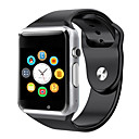 baratos Smartwatches-a1 relógio inteligente bt fitness tracker suporte notificar e monitor de freqüência cardíaca compatível samsung / android telefones / iphone