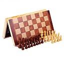 billiga Schackspel-Schackspel Schack Stresslindrande leksaker Trä 1 pcs Barn Unisex Leksaker Present