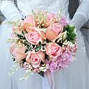 """Χαμηλού Κόστους Λουλούδια Γάμου-Λουλούδια Γάμου Μπουκέτα Γάμου Πολυεστέρας 9,84 """" (περίπου25εκ)"""