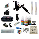 cheap Hair Pieces-BaseKey Tattoo Machine Starter Kit - 1 pcs Tattoo Machines with 1 x 5 ml tattoo inks, Professional LCD power supply Case Not Included 1