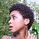Χαμηλού Κόστους Χωρίς κάλυμμα-Ανθρώπινη Τρίχα Περούκα Κοντό Σγουρά Jerry curl Σύντομα Hairstyles 2019 Berry Σγουρά Σγουρό περμανάντ Περούκα αφροαμερικανικό στυλ Για μαύρες γυναίκες Μηχανοποίητο Γυναικεία