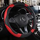 Χαμηλού Κόστους Καλύμματα για το τιμόνι αυτοκινήτου-Καλύμματα για το τιμόνι αυτοκινήτου Δερμάτινο 38 εκ Μπεζ / Μαύρο / καφέ / Μαύρο / Κόκκινο Για Chevrole Όλες οι χρονιές