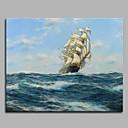 billiga Abstrakta målningar-Tryck Stretchad Kanvastryck - Känd Artistisk Klassisk Stil Klassisk Konsttryck