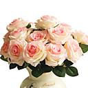 billiga Artificiell Blomma-Konstgjorda blommor 1 Gren Modern Stil Roser Bordsblomma