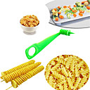 cheap Fruit & Vegetable Tools-Fruit Vegetable Spiral Slicer Kitchen Cutting Carrot Cucumber Zucchini Pattern Carved Flowers