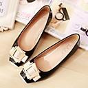 ราคาถูก รองเท้าส้นเตี้ยผู้หญิง-สำหรับผู้หญิง รองเท้าส้นเตี้ย ส้นแบน Square Toe หนังหมู ความสะดวกสบาย ฤดูใบไม้ผลิ / ตก ฟ้า / สีชมพู / Almond / EU41