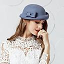 Χαμηλού Κόστους Καπέλο για πάρτι-Μαλλί Kentucky Derby Hat / Καπέλα με 1 Γάμου / Πάρτι / Βράδυ Headpiece