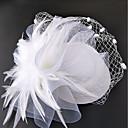 billiga Lösögonfransar-Nät fascinators / hattar / Huvudbonad med Blomma 1st Bröllop / Speciellt Tillfälle Hårbonad