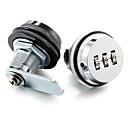 Χαμηλού Κόστους Κλειδαριές με πληκτρολόγιο-Jednobojno Κλειδαριές Ασφαλείας , Φινίρισμα for Λευκό επιψευδαργυρωμένο , Κράμα Μετάλλου