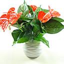 Χαμηλού Κόστους Ψεύτικα Λουλούδια & Βάζα-Ψεύτικα λουλούδια 1 Κλαδί Σύγχρονη Σύγχρονη Φυτά Λουλούδι για Τραπέζι