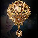 povoljno Značke i broševi-Žene Broševi Ispustiti Broš Jewelry Zlato Obala Dark Blue Za Vjenčanje Večer stranka