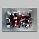 povoljno Slike krajolika-Hang oslikana uljanim bojama Ručno oslikana - Sažetak Sažetak Moderna Uključi Unutarnji okvir / Prošireni platno
