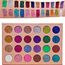 cheap Eyeshadows-24 Colors Eyeshadow Palette Matte Shimmer Glitter Shine smoky Daily Makeup Halloween Makeup Party Makeup Cosmetic Gift