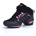 povoljno Ženske čizme-Žene Plesne cipele Til Plesne tenisice Sjedna / Isprepleteni dijelovi Ravne cipele Ravna potpetica Zlato / Pink / Vježbanje / EU39