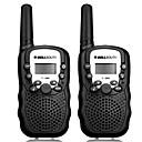 povoljno Walkie talkyji-bellsouth t388 ručni 2 komada t-388 3-5km 22 frs i gmrs uhf radio za djecu walkie talkie dvosmjerni radio interfon
