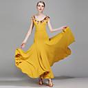 Χαμηλού Κόστους Ρούχα για μπαλέτο-Επίσημος Χορός Φορέματα Γυναικεία Επίδοση Spandex Τούλι Mohair Σχέδιο / Στάμπα Κοντομάνικο Φυσικό Φόρεμα