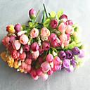 billiga Artificiell Blomma-Konstgjorda blommor 5 Gren Pastoral Stil Pioner Bordsblomma