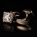 Χαμηλού Κόστους Μανικετόκουμπα Ανδρικά-Geometric Shape Χρυσαφί Butoni Μοτίβο Ανδρικά Κοστούμια Κοσμήματα Για