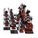 baratos Blocos de Montar-AUSINI Blocos de Construir Jogo de Xadrez 1142 pcs Pessoas compatível Legoing Faça Você Mesmo Para Meninos Brinquedos Dom