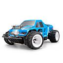 billige Fjernstyrte biler-Radiostyrt Bil WLtoys P929 2.4G Buggy (Off- Road) / Truggy / Off Road Car 1:28 Børste Elektrisk 30 km/h Oppladbar / Fjernkontroll / Elektrisk