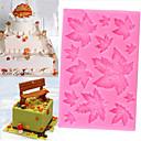 זול תבניות לעוגות-עלה, אדר, תבנית, עוגה, תבנית, חג המולד, שוקולד, ממתקים, אפייה, תבנית
