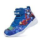 baratos Sapatos Infantis Para Esportes-Para Meninos Conforto Tecido Tênis Little Kids (4-7 anos) / Big Kids (7 anos +) Cadarço / Velcro Cinzento / Vermelho / Azul Outono / TR