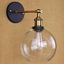 billiga Äkta peruker med hätta-Rustik / lodge vägg lampor& sconces metall vägglampa 110-120v / 220-240v max 60w
