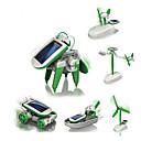 Χαμηλού Κόστους Ρομπότ-6 IN 1 Ρομπότ Παιχνίδια ηλιακής τροφοδότησης Αεροσκάφος Ανεμόμυλος Πλοίο Ηλιακή Τροφοδότηση Φτιάξτο Μόνος Σου Εκπαίδευση Παιδικά Παιχνίδια Δώρο 1 pcs