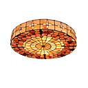 billiga Hängande belysning-diameter 50cm tiffany takljus skal skugga vardagsrum sovrum matsal flush mount