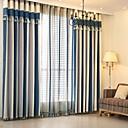 billige Gardiner-europeiske gardiner gardiner to paneler kontor / soverom
